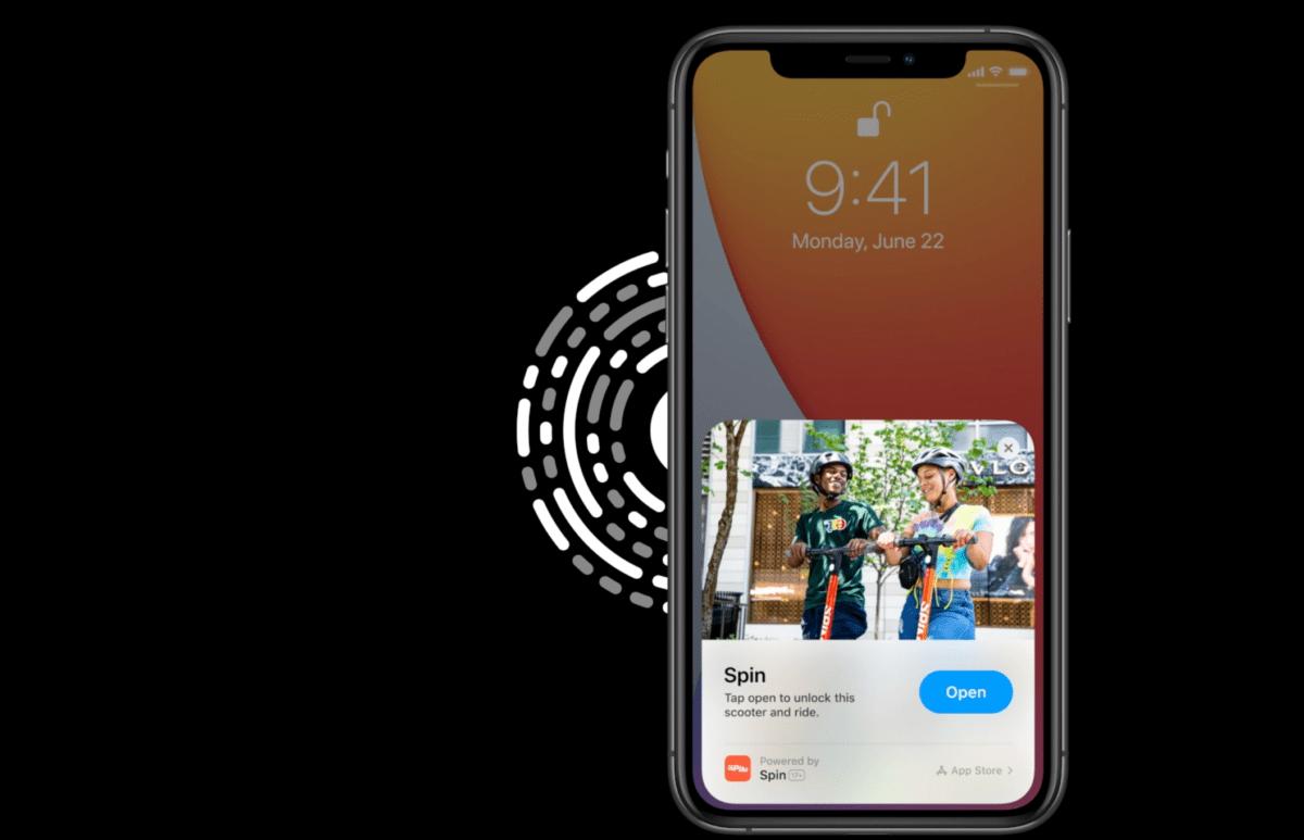 App Clips : utiliser les services des applis sans les télécharger va devenir possible