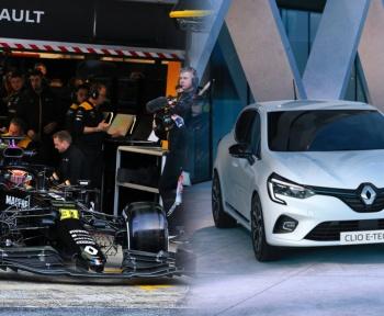 Comment la Formule 1 influe sur le développement de la Clio E-Tech