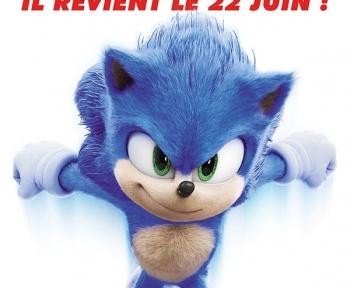 Le film Sonic est de retour au cinéma !