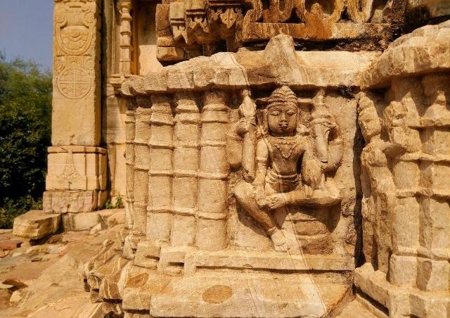 Un Inde, un temple englouti est en train de refaire surface