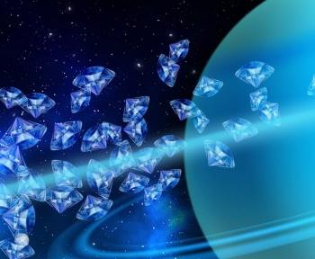 Il pleuvrait des diamants au cœur de Neptune et d'Uranus: voici l'explication possible