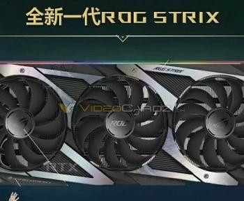 Ampere : fuite de l'Asus ROG Strix GeForce RTX 3080 Ti