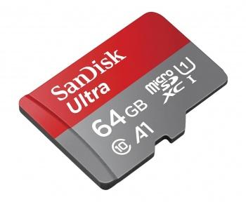 Petit prix de 10 € seulement pour la microSD SanDisk Ultra 64 Go