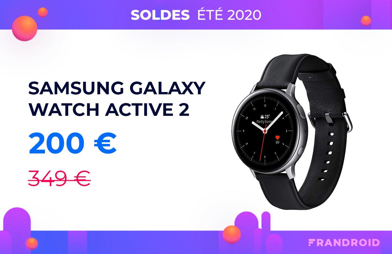 L'excellente Samsung Galaxy Watch 2 à seulement 200 euros
