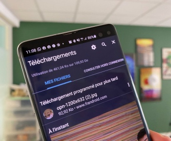 Google Chrome sur Android : programmer vos téléchargements quand bon vous semble sera bientôt possible