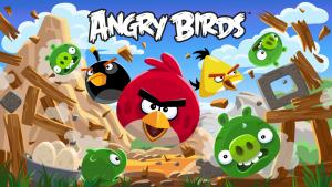 Angry-Birds jeu developpé par Rovio Entertainment