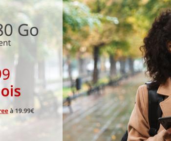 Forfait Free Mobile : 80 Go à 12,99 euros par mois