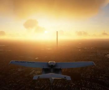 Flight Simulator : une faute de frappe génère un immeuble de 212 étages
