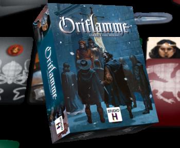 [Test] Oriflamme, focus sur l'As d'or jeu de société de l'année 2020