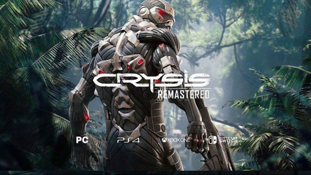 Date de sortie officialisée pour Crysis Remastered sur PS4, Xbox One et PC