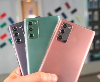 Le Galaxy Note 20 à 729 € chez Rakuten