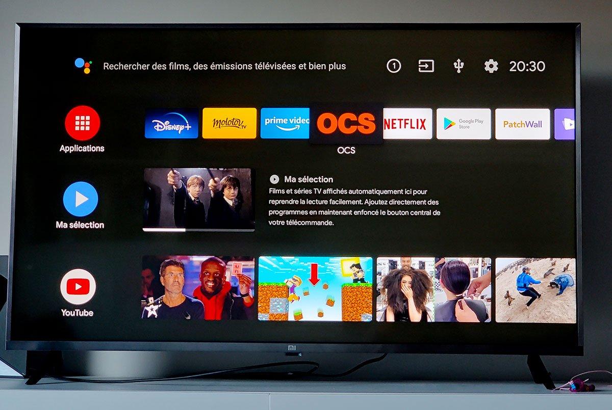 [Bon Plan] La Mi TV 4S 4K HDR (43 pouces) de Xiaomi encore plus bas à 270 euros !