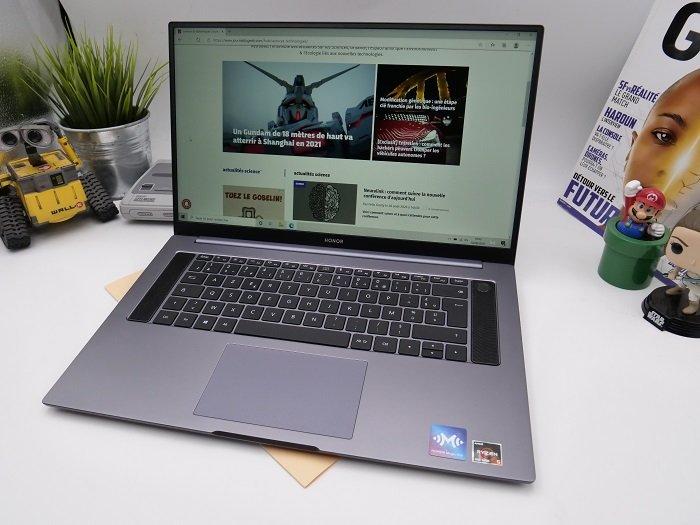 [Prise en main] Honor MagicBook Pro : une union bien calibrée entre polyvalence et autonomie