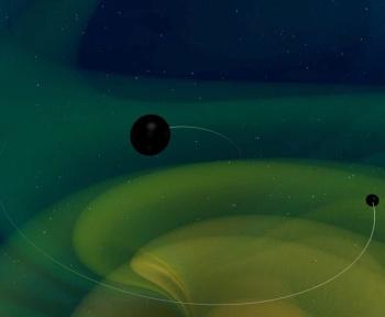 Comment expliquer la fusion étonnante d'un gros trou noir avec un plus petit?