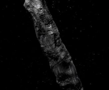 Oumuamua pourrait-il être une sorte de «mouton de poussière» interstellaire?