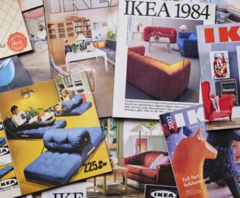 IKEA publie tous ses catalogues de 1950 à nos jours sur son musée en ligne