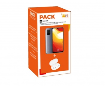 Ce pack Xiaomi Mi 10 Lite + Mi True Wireless Earbuds est 50 € moins cher