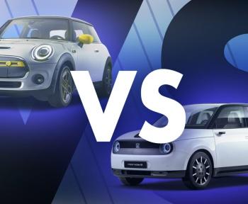 Honda e versus Mini Cooper SE: le match des citadines électriques
