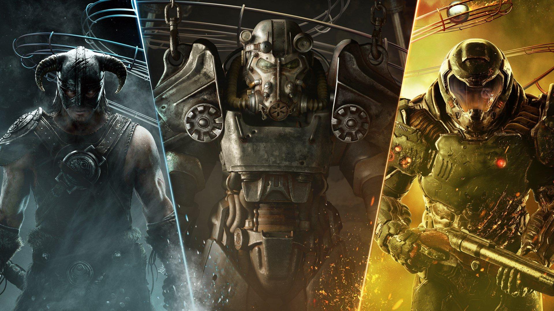Microsoft rachète Bethesda et récupère Doom, Fallout, Skyrim, et d'autres jeux populaires