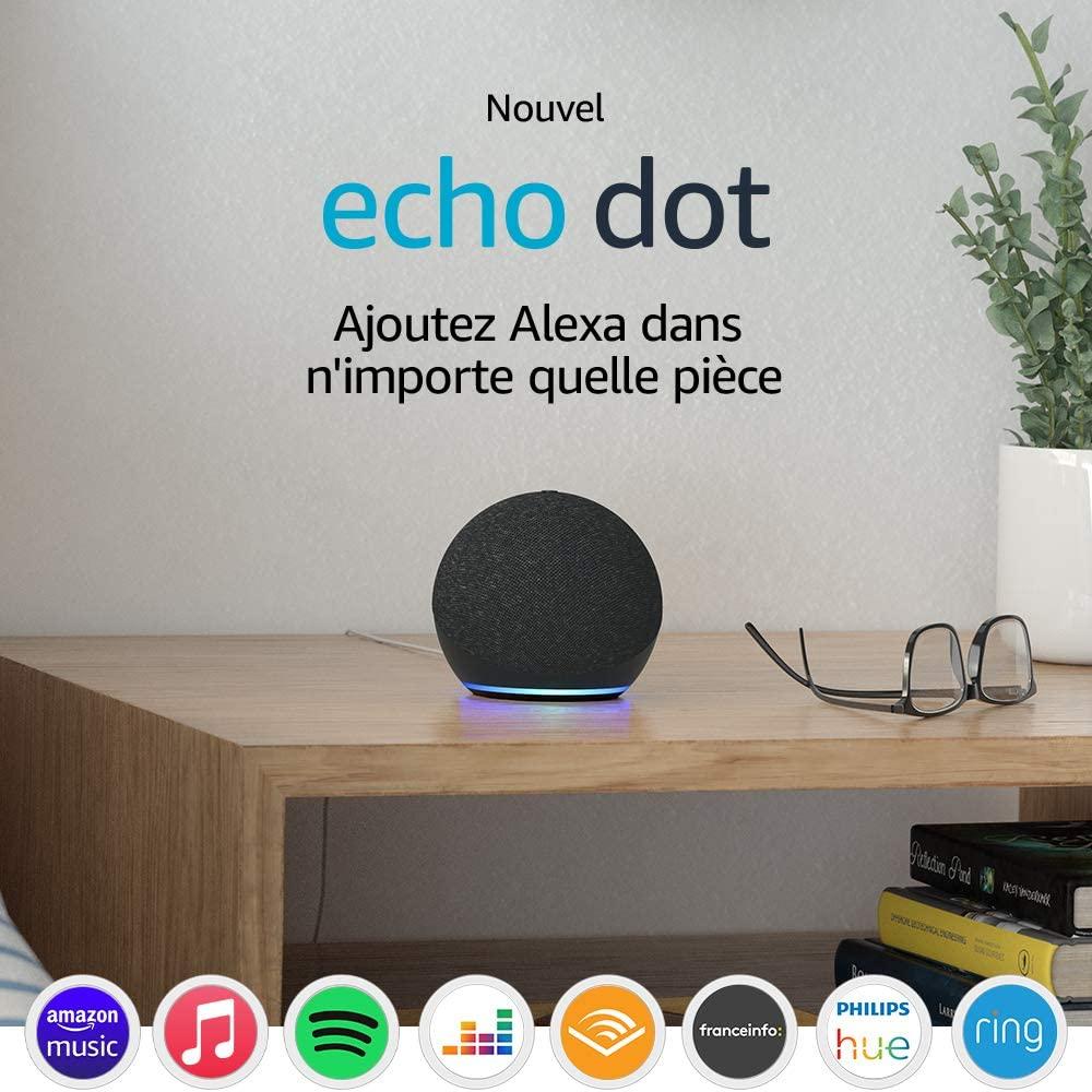 Amazon dévoile ses nouveaux Echo, Echo Dot et Echo Dot avec horloge ainsi que Echo Show 10