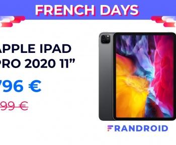 L'excellent iPad Pro 2020 est 100 € moins cher pour les French Days