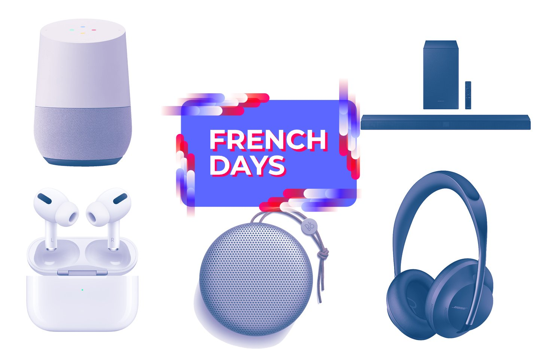 Casque, enceinte ou barre de son : les meilleures offres audio des French Days