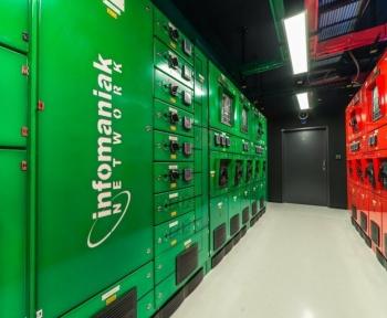 Réconcilier data centers et écologie: le défi d'Infomaniak