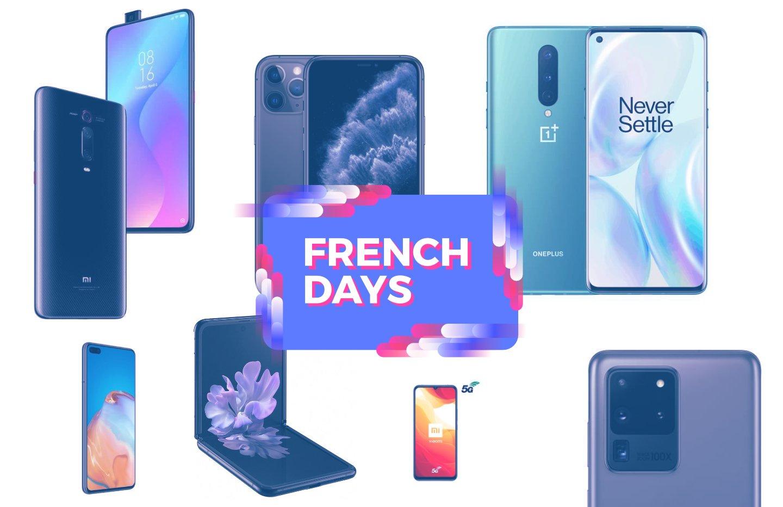 Samsung, Oppo, Xiaomi ou Apple : tous les bons plans smartphones des French Days