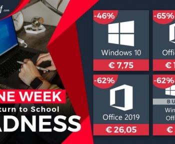 Promos en folie : Windows 10 Pro à 7,75 € et Office 2016 à 18,48 €