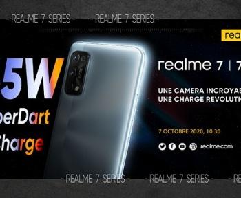 Les Realme 7 et 7 Pro seront lancés le 7 octobre en France !