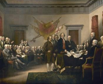 Mais au fait, qui a rédigé la Déclaration d'Indépendance ?