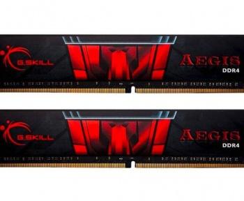 Le Kit G.Skill AEGIS 16 Go RAM DDR4 à 61 €chez Amazon