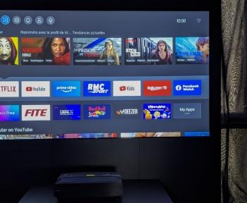 HiSense Laser TV 4K, nos premières impressions sur ce «téléviseur» de 100 pouces