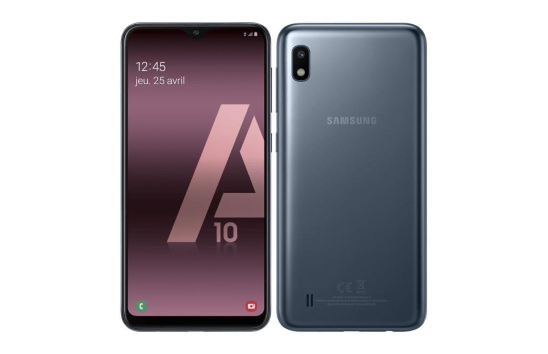 Galaxy A10 : le smartphone abordable de Samsung est en promo à 138 €