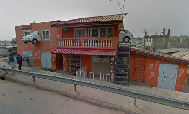 5 scènes insolites repérées dans Google Maps