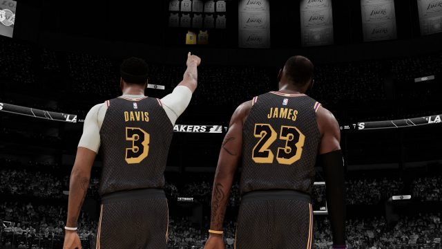 Les pubs intégrées dans NBA 2K21 font polémique