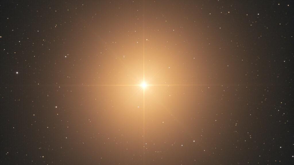 Et si l'on construisait un télescope spécialement pour observer l'étoile Bételgeuse?