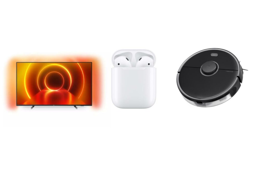 AirPods, enceinte, TV et aspirateur-robot: c'est déjà l'heure des promotions chez Electro Dépôt