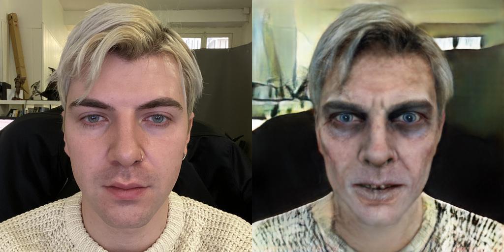 Cette intelligence artificielle vous transforme en zombie pour Halloween