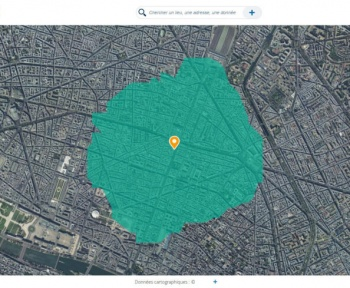 Confinement: comment savoir à quoi correspond 1 km autour de chez vous