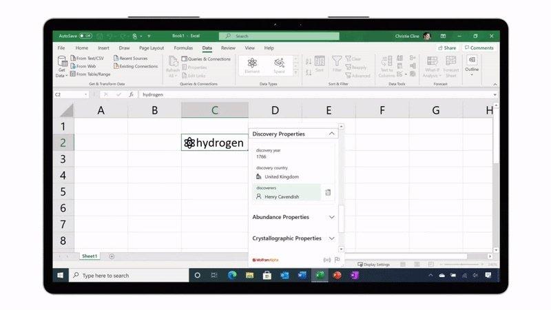 Avec les données dynamiques, Excel va plus loin que les chiffres et le texte