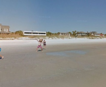 5 scènes décalées immortalisées par Google Maps