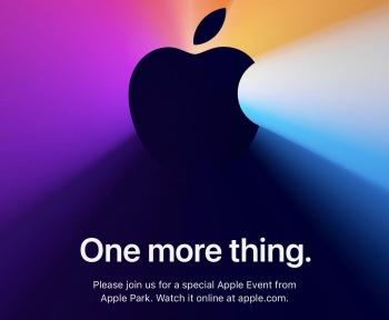 One More Thing : Apple nous convie à un nouvel événement le 10 novembre