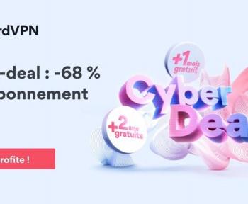[Bon Plan] L'offre 2 ans de NordVPN passe au tarif de 3,15 €/mois (-68 %)