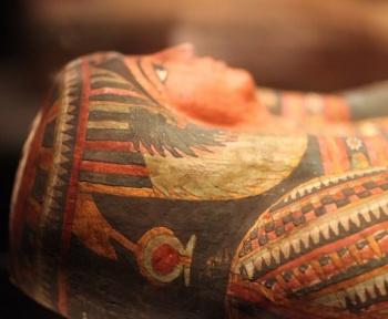 On a retrouvé un texte funéraire de 4 000 ans dans un ancien sarcophage