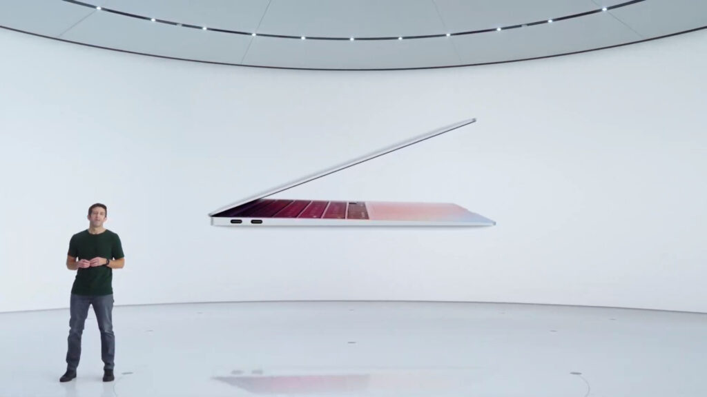 Apple lance sa puce surpuissante M1 dans le MacBook Air