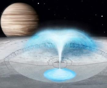 Les secrets des éruptions de glace d'Europe, lune de Jupiter, dévoilés