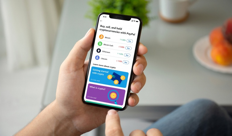 PayPal users in the US can now buy, hold and sell cryptocurrencies