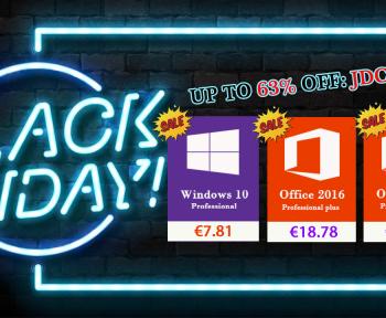 [Black Friday] Windows 10 pro à 7,81€ et Office 2016 à 18,78€