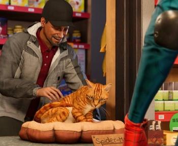 Dans le dernier jeu vidéo Spider-Man, Miles Morales est le meilleur ami des chats